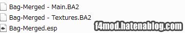完成したba2ファイル