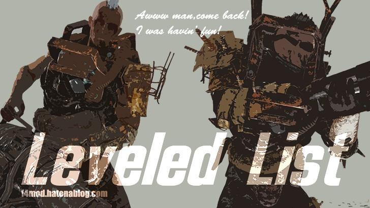 LeveledList