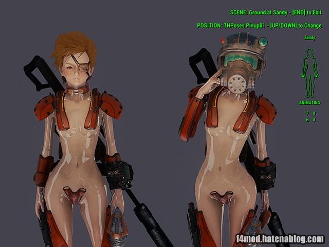 アニメーション中の限定装備