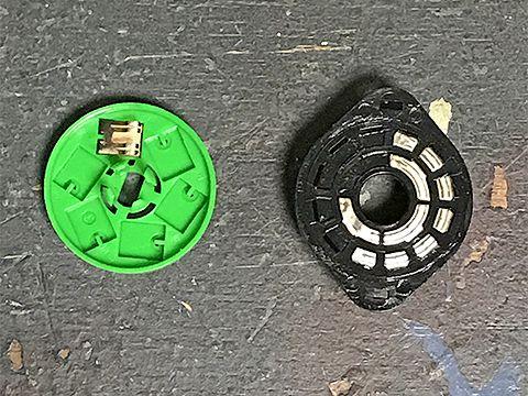 ロータリースイッチの解体
