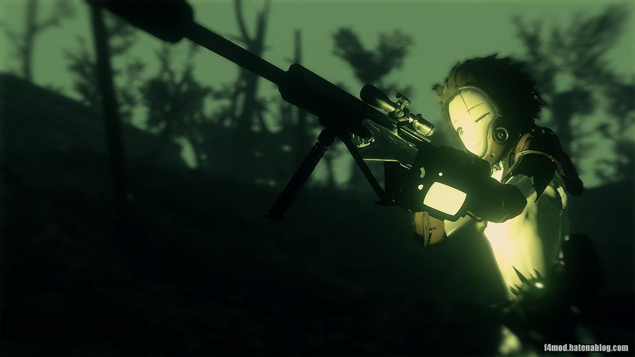 暗視で狙撃
