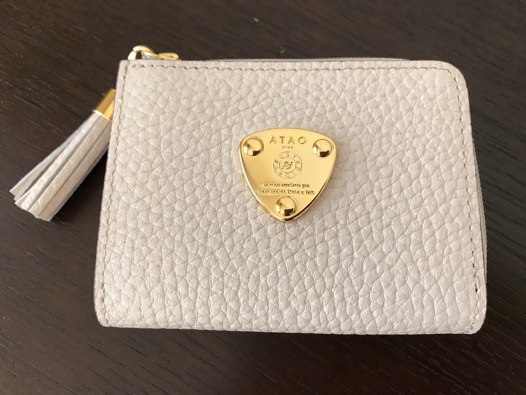 the latest 9745a 5a05b ATAOの三つ折り財布を購入しました - 図書館小町