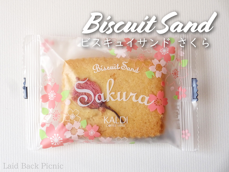 Biscuit Sand Sakura Package