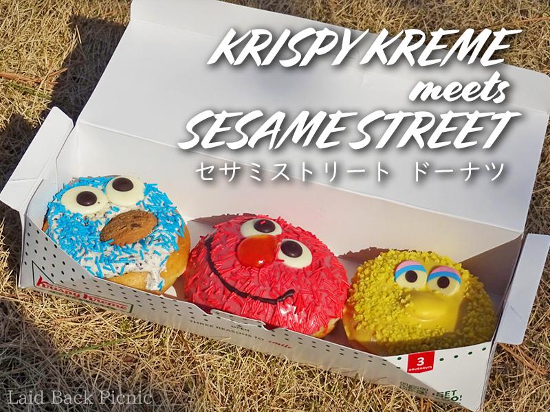 3 Sesame Street donuts