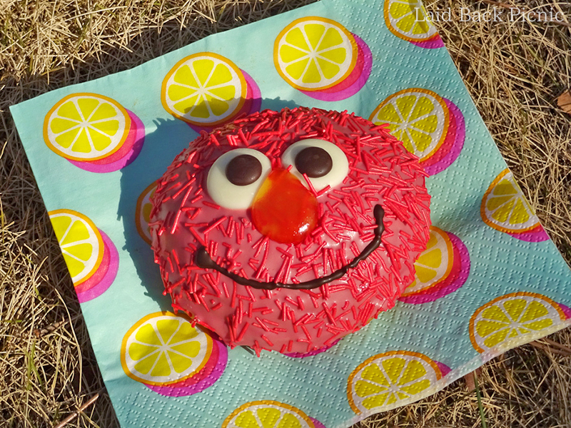 ELMO Custard Donut
