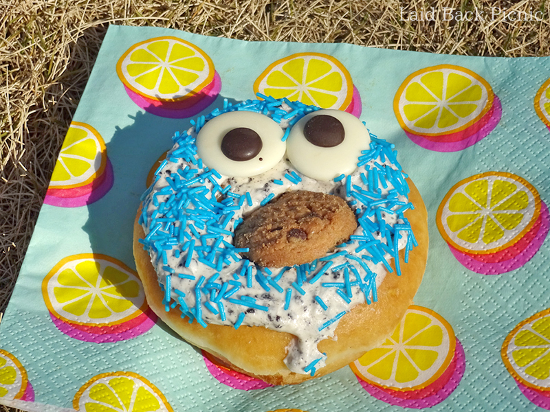 Cookie & COOKIE MONSTER Donut