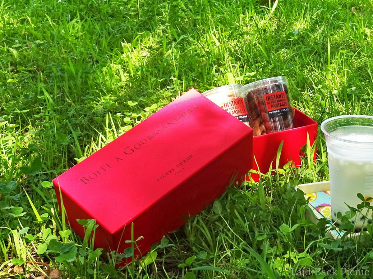 真っ赤なボックスが可愛い
