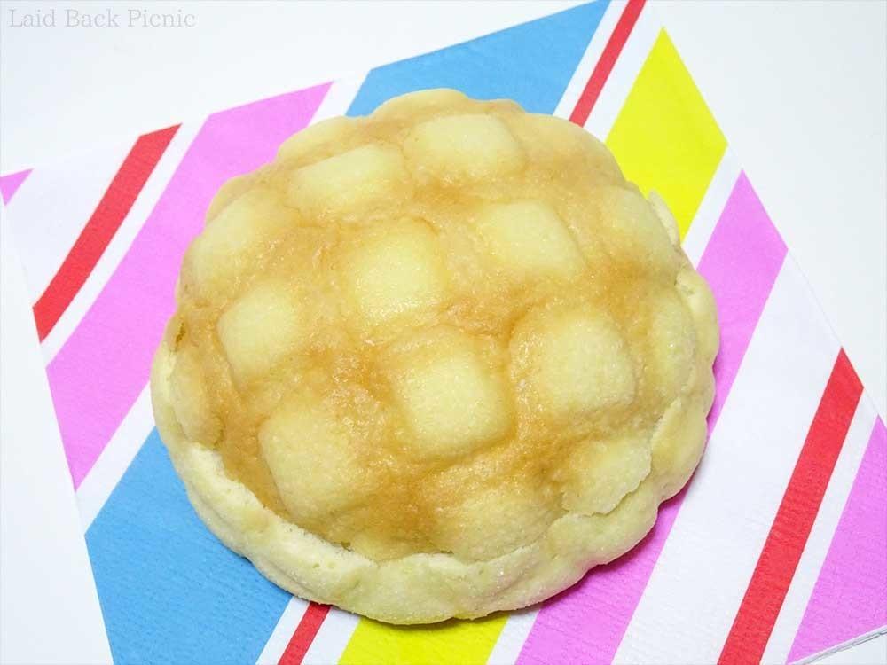 きれいな網目のメロンパン