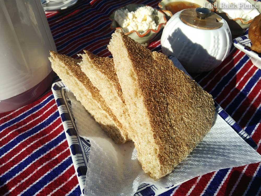 素朴なパン