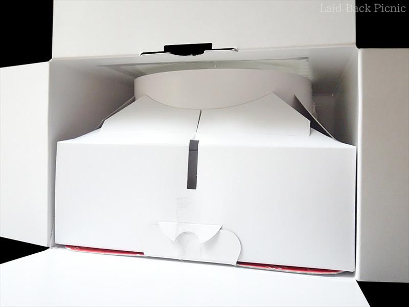 守られ過ぎて、ケーキ箱を開けてもケーキが見えない