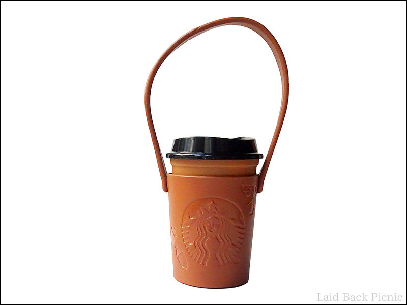 ショートサイズのカップに、ピッタリのホルダーの長さ