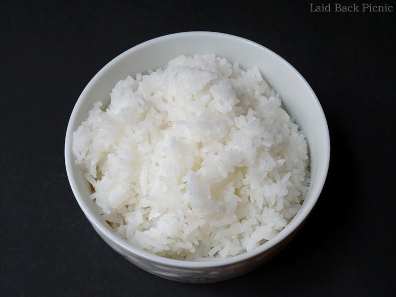 細長いお米