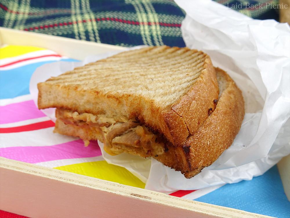軽めのサンドイッチ