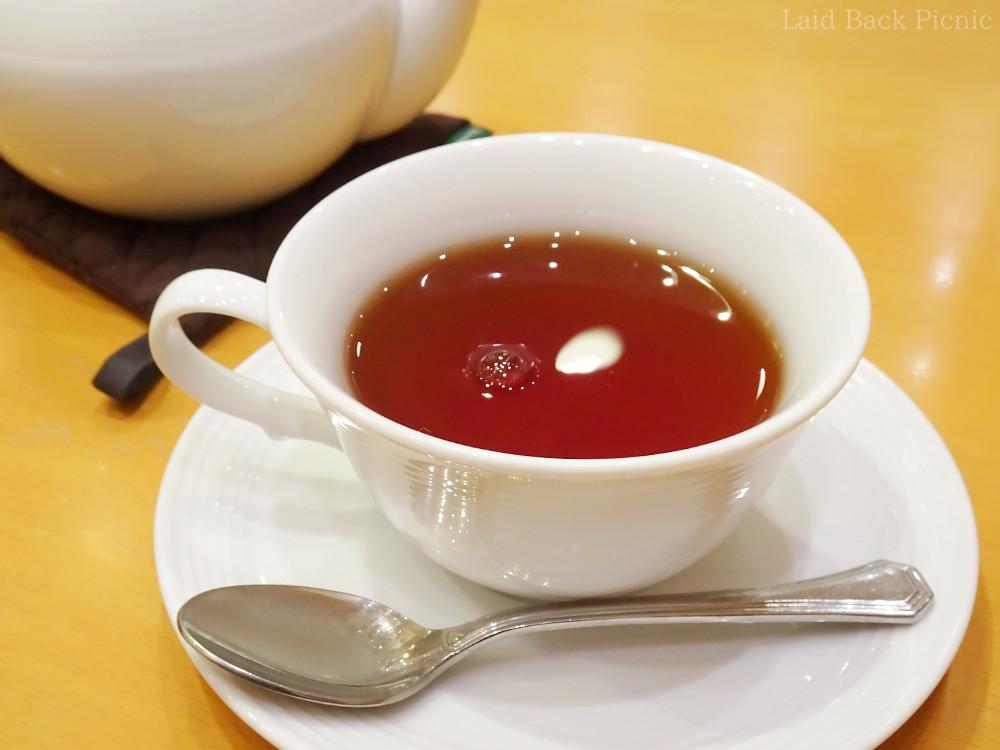 りんごの香りが華やかな紅茶