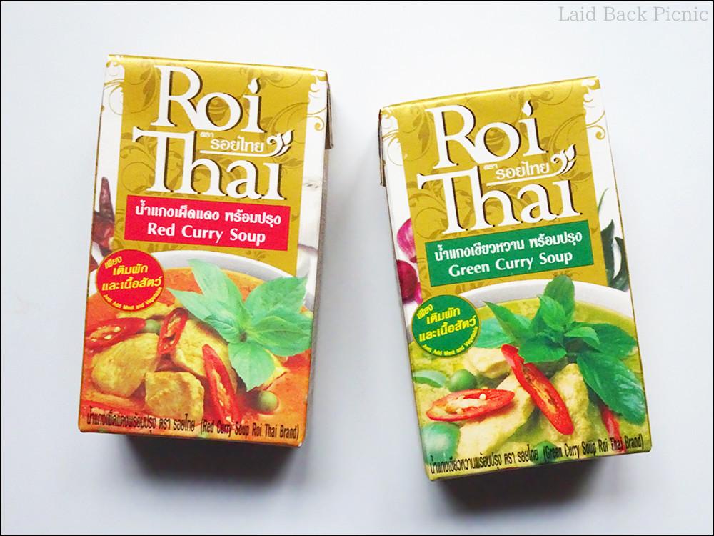 箱入りのカレースープで、赤いパッケージ