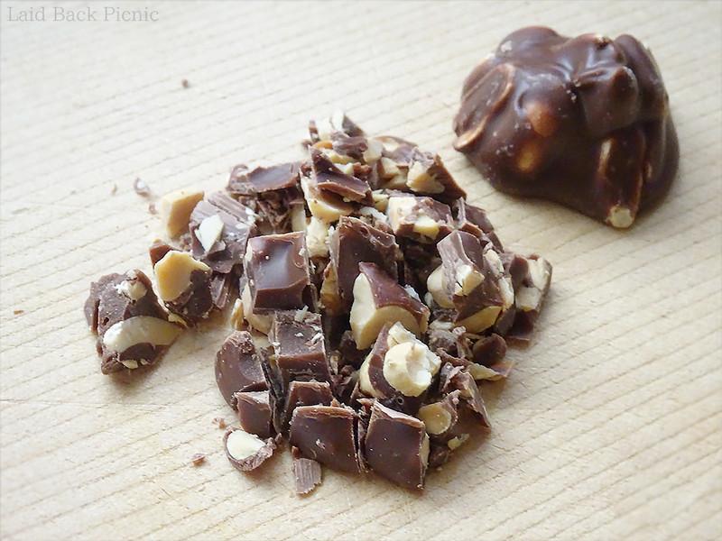 チョコとナッツを別々に用意するよりも楽である