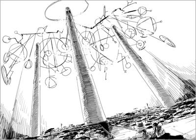 少女終末旅行 2巻p34-35 (C) 2014 tsukumizu