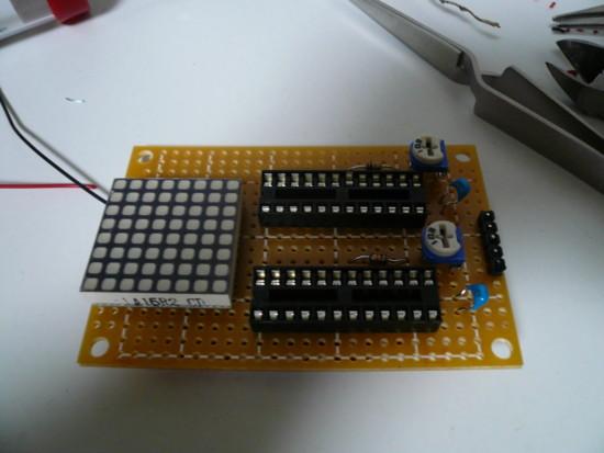 Matrix LED with MAX7219