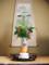 2010年母の生け花と鏡餅