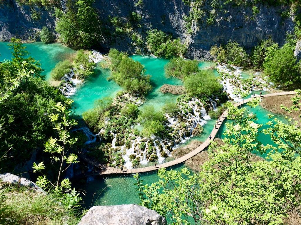 クロアチアのプリトビツェ国立公園