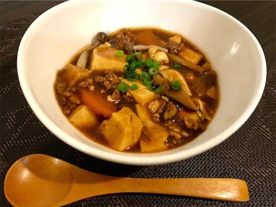 ボーンブロス麻婆豆腐