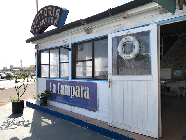 La Lamparaのお店の外観