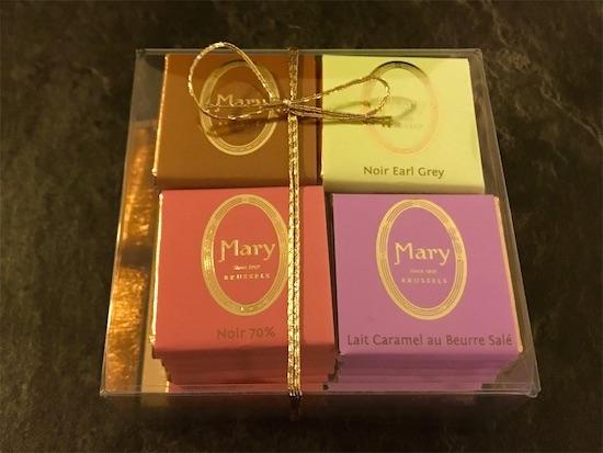 メリーのプレートチョコセット