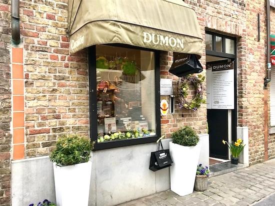 デュモンの店舗の外観