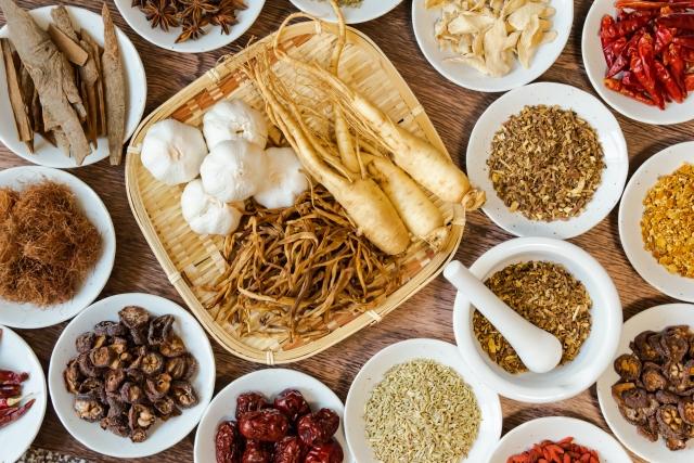 漢方薬の原料のイメージ