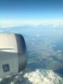 B787から見る伊勢湾周辺