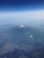 山梨県側からの富士山2