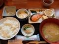 [ホテルマイステイズ天]焼き魚朝食