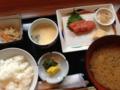 [ホテルマイステイズ天]明太子の朝食