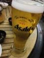 釜山でスーパードライ