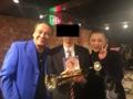 林寛子さん、元ずーとるび江藤さんとの記念写真