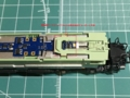 ヘッドライト導光材と運転席パーツがデコーダーと干渉