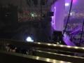横から見るジュンスライブステージ
