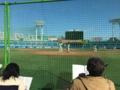 六大学野球OB戦応援