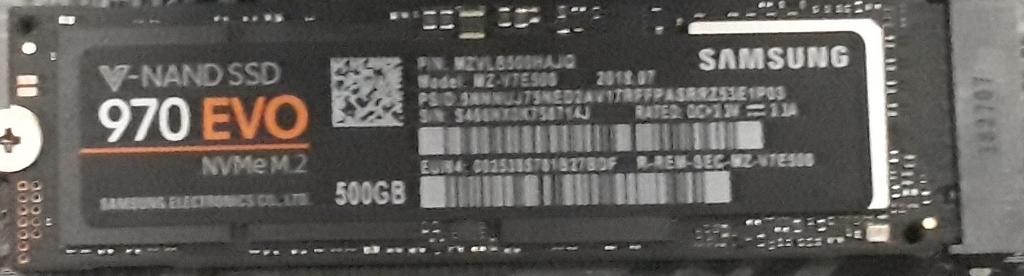 ガレリアZZ-SLI|SSD