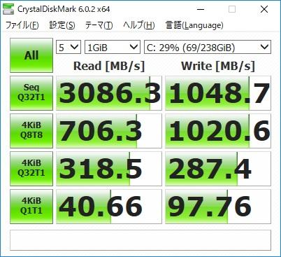 ドスパラ|GCF2070NFGCF207|SSD