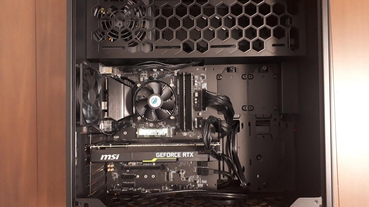 マウスコンピューター|MASTERPIECE i1640GA1-SP|内部