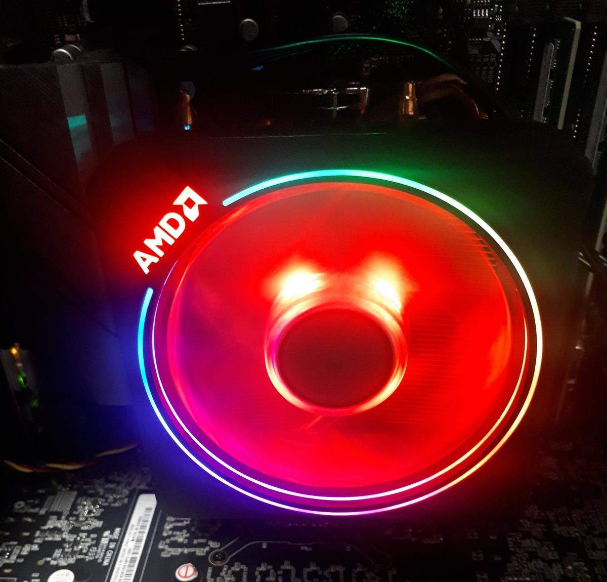 ガレリアAXF|CPUクーラーが光る