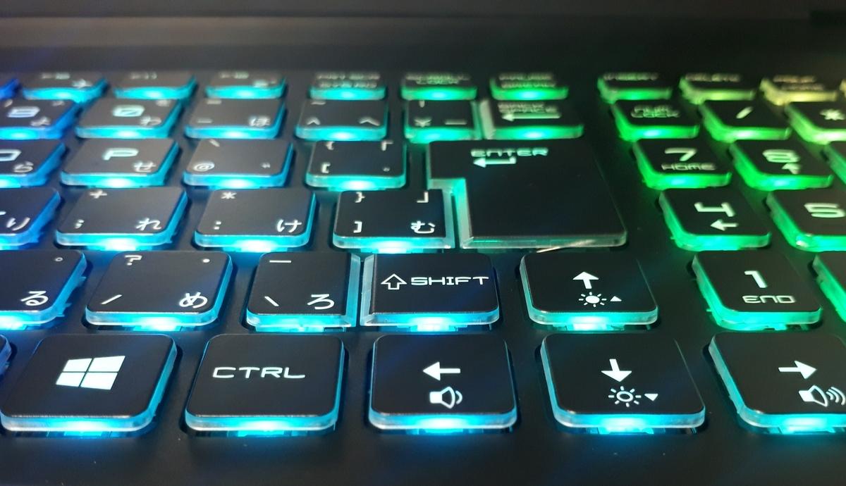 GCR1660TNF-E|キーボード
