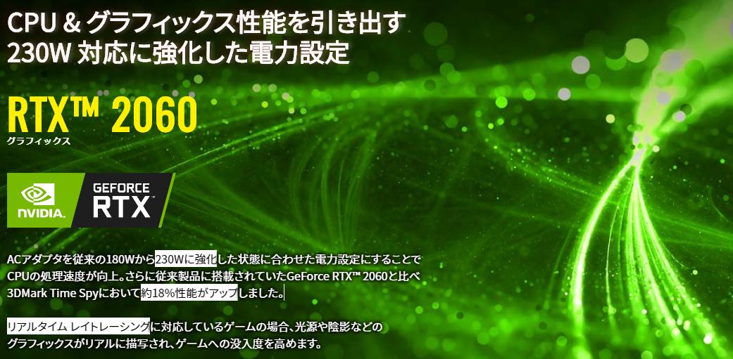 高電力版RTX2060