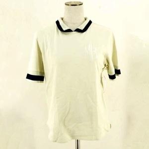 配色ポロシャツ