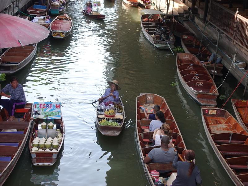 タイ水上マーケット
