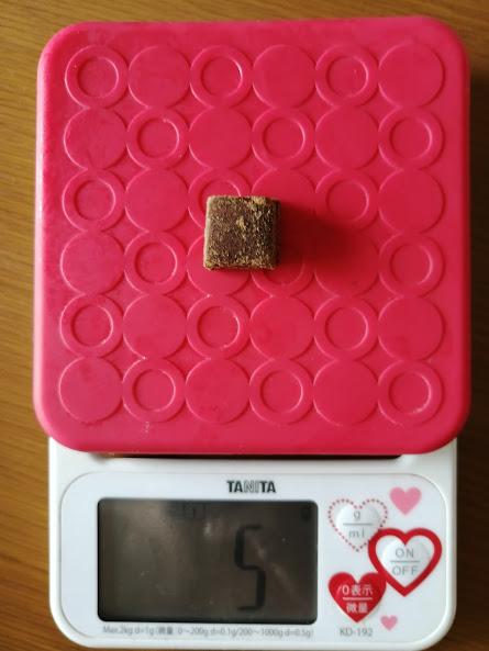 沖縄 黒糖 やんばる糖 一口 重さ