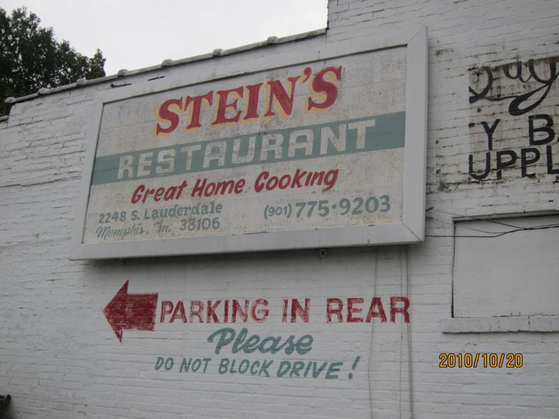 STEIN'S RESTAURANT