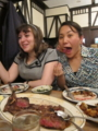 Meat!!! Meat!!!!! Meat!!!!!! I ate meat No1 of the USA at Peter Luger Steak House!!!!!! Yammmmmm