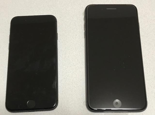 iPhone8と8Plus
